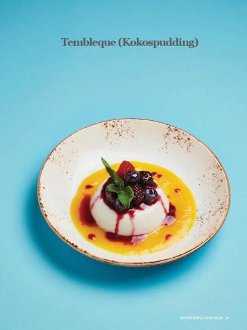 Rezept - Tembleque-Kokospudding - Healthy Vegan Sonderheft - Vegan Jahrbuch