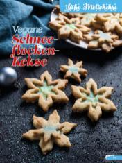 Rezept - Vegane-Schneeflocken-Kekse - Simply Backen Sonderheft Weihnachtsbacken mit Janet & Jasmin 01/2019