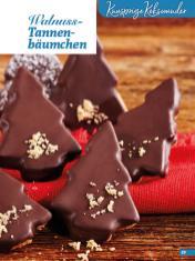 Rezept - Walnuss-Tannenbäumchen - Weihnachtsbäckerei 01/2019