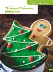 Rezept - Weihnachtsbaumplätzchen - Weihnachtsbäckerei 01/2019