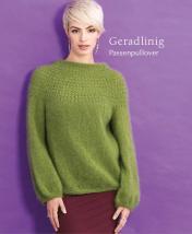 Strickanleitung - Geradlinig - Passenpullover - Designer Knitting 06/2019