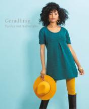 Strickanleitung - Geradlinig - Tunika mit Kellerfalte - Designer Knitting 06/2019