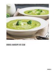 Rezept - Brokkoli-Rahmsuppe mit Sesam - Bewusst Low Carb – 01/2020