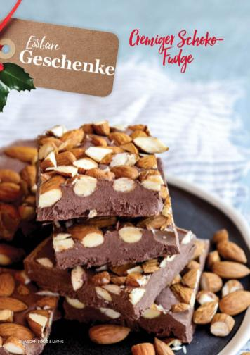 Rezept - Cremiger Schoko-Fudge - Vegan Food & Living – 01/2020