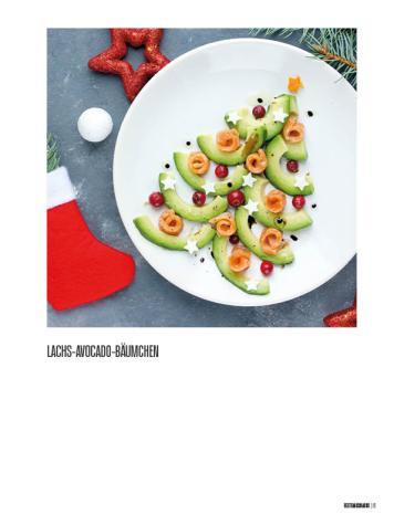Rezept - Lachs-Avocado-Bäumchen - Bewusst Low Carb – 01/2020