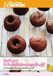 Rezept - Saftiger Schokoladengugelhupf mit Frischkäse-Frosting und Salzkaramell - Das große Backen 01/2020