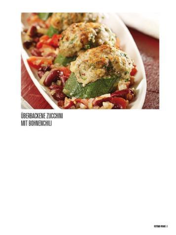 Rezept - Überbackene Zucchini mit Bohnenchili - Bewusst Low Carb – 01/2020