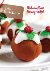 Rezept - Weihnachtliche Brandy-Trüffel - Vegan Food & Living – 01/2020