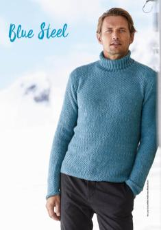 Strickanleitung - Blue Steel - Simply Stricken 01/2020