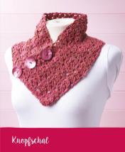 Häkelanleitung - Knopfschal - Mini Häkeln Vol. 12 Schals & Tücher