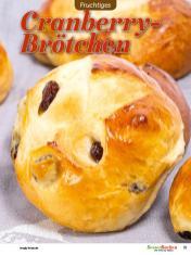Rezept - Cranberry-Brötchen - Besser Backen mit Tommy Weinz – Brötchen