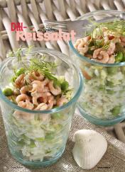 Rezept - Dill-Reissalat mit Krabben - Simply Kochen Sonderheft Best of Salate