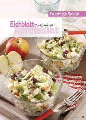 Rezept - Eichblatt-Apfelsalat mit Cranberrys - Simply Kochen Sonderheft Best of Salate