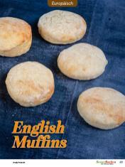 Rezept - English Muffins - Besser Backen mit Tommy Weinz – Brötchen