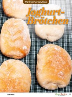 Rezept - Joghurt-Brötchen - Besser Backen mit Tommy Weinz – Brötchen