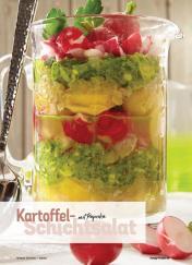 Rezept - Kartoffel-Schichtsalat mit Paprika - Simply Kochen Sonderheft Best of Salate