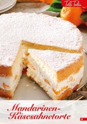 Rezept - Mandarinen-Käsesahnetorte - Simply Backen Sonderheft Kuchen – 01/2020