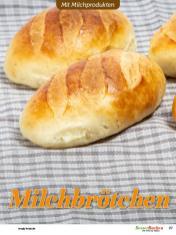 Rezept - Milchbrötchen - Besser Backen mit Tommy Weinz – Brötchen