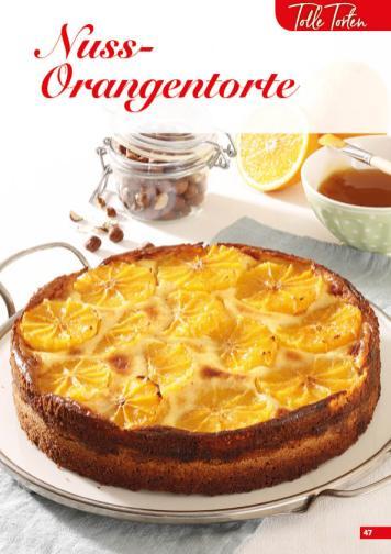 Rezept - Nuss-Orangentorte - Simply Backen Sonderheft Kuchen – 01/2020