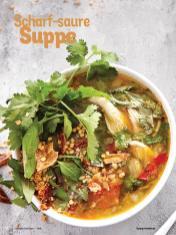 Rezept - Scharf-saure Suppe - Simply Kochen Diät-Rezepte für die ganze Familie