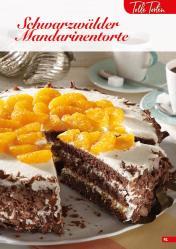 Rezept - Schwarzwälder Mandarinentorte - Simply Backen Sonderheft Kuchen – 01/2020