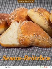 Rezept - Sesam-Brötchen - Besser Backen mit Tommy Weinz – Brötchen