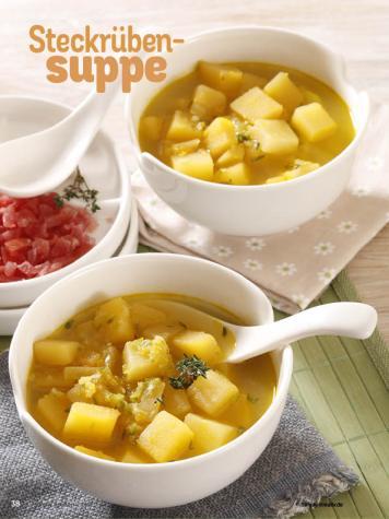 Rezept - Steckrübensuppe - Simply Kochen Diät-Rezepte für die ganze Familie