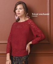 Strickanleitung - Tricot enchante - Cramoisie - Designer Knitting - 01/2020