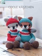Häkelanleitung - Coole Kätzchen