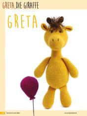 Häkelanleitung - Greta, die Giraffe - Fantastische Häkelideen Bärchenparty Amigurumi Vol. 24