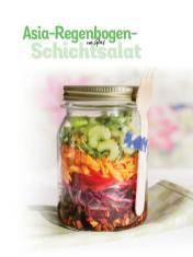 Rezept - Asia-Regenbogen-Schichtsalat im Glas - Simply Kochen Sonderheft Low Carb