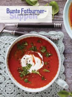 Rezept - Bunte Farburner-Suppen in Rot, Grün oder Orange - Simply Kochen Sonderheft Low Carb