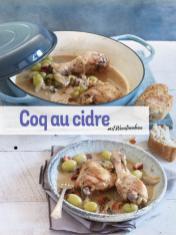 Rezept - Coq au cidre mit Weintrauben - Simply Kochen Sonderheft Low Carb