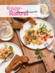 Rezept - Kräuter-Rührei mit Shrimps & Frühlingszwiebeln - Simply Kochen Sonderheft Low Carb