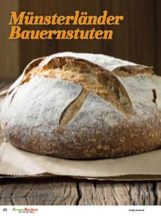 Rezept - Münsterländer Bauernstuten - Brote Backen mit Tommy Weinz 02/2020