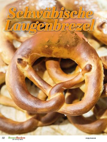 Rezept - Schwäbische Laugenbrezel - Brote Backen mit Tommy Weinz 02/2020