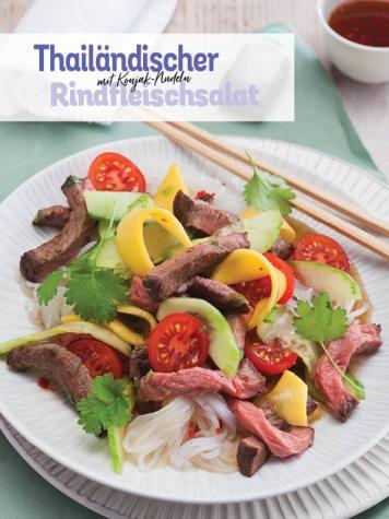 Rezept - Thailändischer Rindersalat mit Konjak-Nudeln - Simply Kochen Sonderheft Low Carb