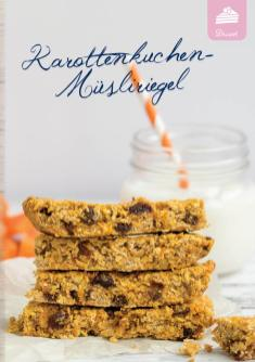 Rezept - Karottenkuchen-Müsliriegel - Simply Kreativ Extra – Leckere Ideen für den Thermomix® 01/2020