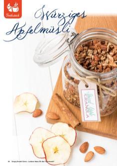 Rezept - Würziges Apfelmüsli - Simply Kreativ Extra – Leckere Ideen für den Thermomix® 01/2020