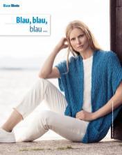 Strickanleitung - Blau, blau, blau … - Fantastische Frühlings-Strickideen 02/2020