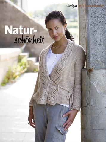 Strickanleitung - Naturschönheit - Simply Kreativ Sonderheft Lace für jeden Tag – 01/2020