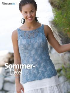 Strickanleitung - Sommer-Liebe - Simply Kreativ Sonderheft Lace für jeden Tag – 01/2020