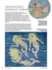 Applikationen dekorativ umranden - Patchwork-Guide Teil 2 02/2020