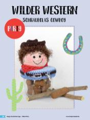 Häkelanleitung - Schraubglas Cowboy - Simply Häkeln Sonderheft Deckelüberzüge Teil 2