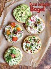 Rezept - Bunt belegte Bagel - Simply Kochen Diät-Rezepte für gesunde Ernährung
