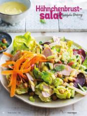 Rezept - Hähnchenbrustsalat mit Apfelgelee-Dressing - Simply Kochen Diät-Rezepte für gesunde Ernährung
