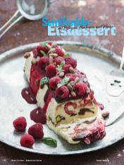 Rezept - Semifreddo Eisdessert mit Pistazien, Himbeeren und Minze - Simply Kochen Italienische Küche