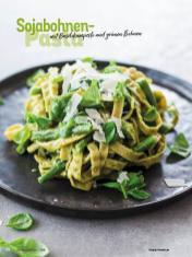 Rezept - Sojabohnen-Pasta mit Basilikumpesto und grünen Bohnen - Simply Kochen Diät-Rezepte für gesunde Ernährung