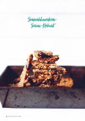 Rezept - Sonnenblumenkern-Sesam-Krokant - Vegan Food & Living – 03/2020