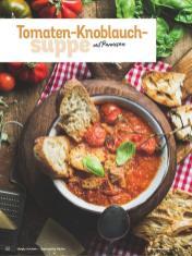 Rezept - Tomaten-Knoblauchsuppe mit Parmesan - Simply Kochen Italienische Küche